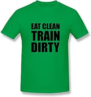Men's Eat Clean Train Dirty T-Shirt