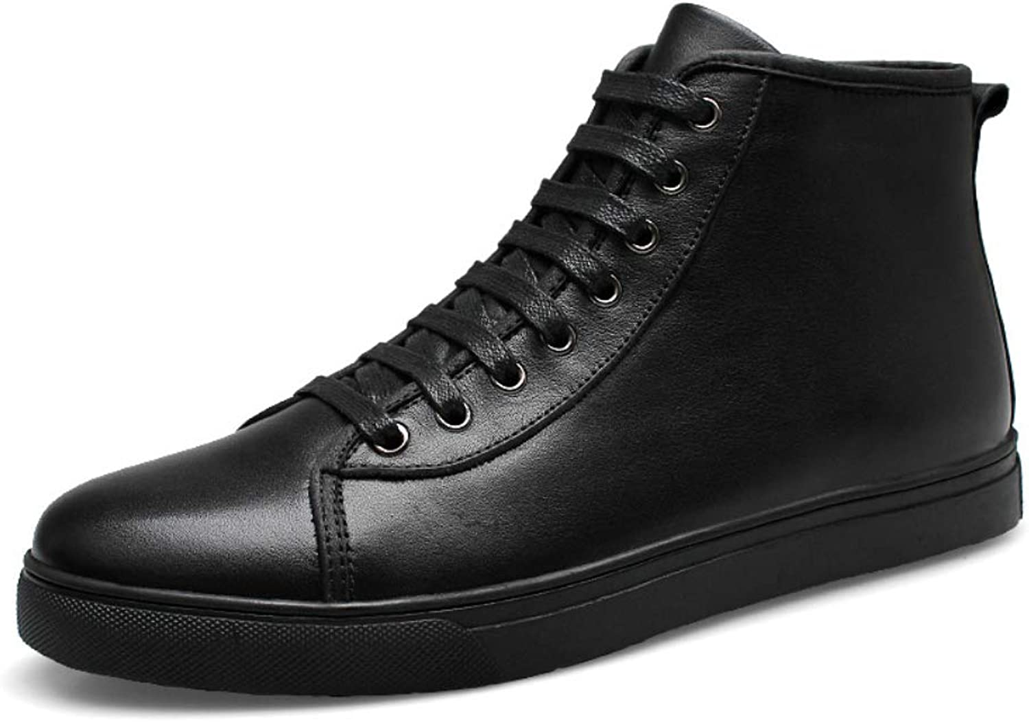 Men's Leather Oxford shoes Fashion Boots Casual Sneakers