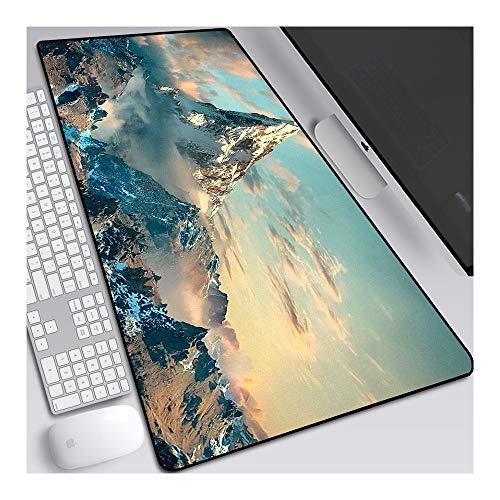 [Dimensioni estese di grandi dimensioni] Si adatta perfettamente al tuo desktop e ti offre uno spazio sufficiente per azionare la tastiera e il mouse.È adatto a tutti i tipi di tastiere e mouse, dimensioni: 900 × 400 × 3mm (35.4 × 15.75 × 0.12 pollic...