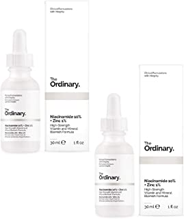 THE ORDINARY Niacinamide 10% + Zinc 1% 30ml - 2 Pack