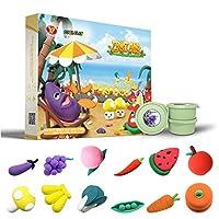 エアドライクレイおもちゃ、親子インタラクティブ就学前アートおもちゃ、クリエイティブアートDIY工芸品、子供向けギフト、7つのテーマ