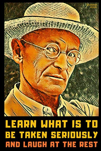 Hermann Hesse: Lined Notebook Journal + 100 Essential Hermann Hesse Quotes Inside