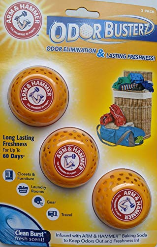 Arm & Hammer Odor Busterz Clean Scent Odor Absorber 3 pk Solid