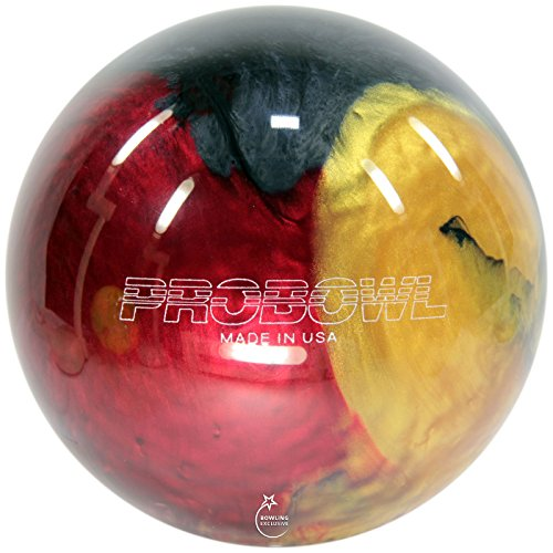Bowling Ball Ebonite Pro Bowl ruby gold grey, 15 lbs
