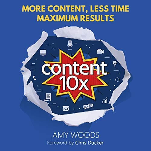 Content 10X audiobook cover art