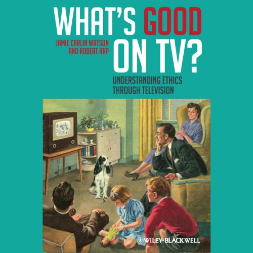 What's Good on TV? audiobook cover art