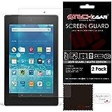 TECHGEAR (2 Stück Matte Bildschirmschutzfolien für Fire HD 8 Tablet mit Alexa - Matte Blendschutz Schutzfolie für Amazon Fire HD 8 (Alle Generationen 5. Gen. 6. Gen. 7. Gen.)