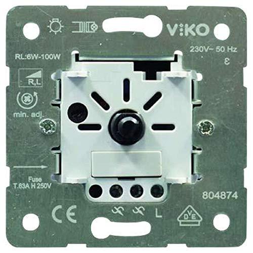 UP-Einsatz LED Druck-/Wechseldimmer 6-100W/VA Phasenanschnitt EAN Code: