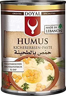 comprar comparacion Doyal, Hummus para mojar y untar - 12 de 400 gr. (Total 4800 gr.)