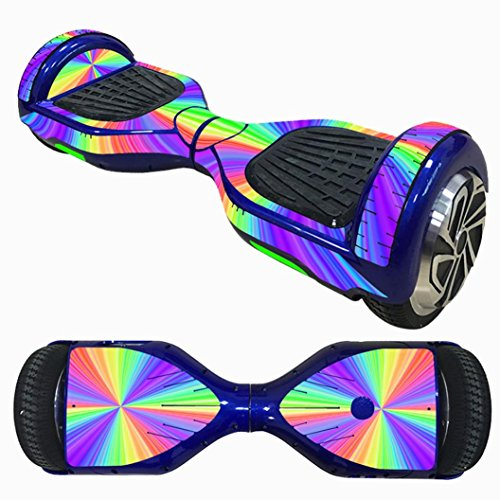 gaddrt monociclo Scooter piel Hover eléctrica Skate Board adhesivo pegatina de dos ruedas Smart funda protectora funda para 6,5pulgadas oscilante, B