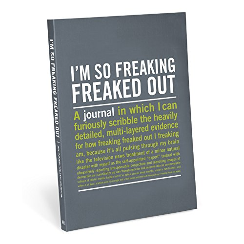 Knock Knock I'm So Freaking Freaked Out Inner-Truth Journal (Large, 7 x 9.5-inches)