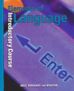 Elements Of Language 0030526620 Book Cover