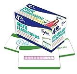 4th Grade Math Flashcards: 240 Flashcards for...