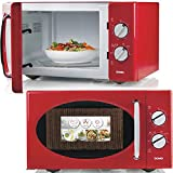 Domo DO2925 micro-onde Comptoir - Micro-ondes (Comptoir, Micro-ondes uniquement, 25 L, 900 W, Rotatif, Rouge)