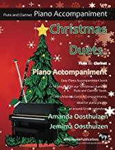 Best clarinet christmas music with piano accompaniment Reviews