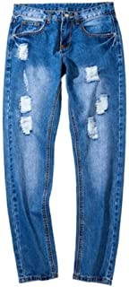 Giving is Living Apparel Men's Casual Daily Denim Cotton Solid Jeans