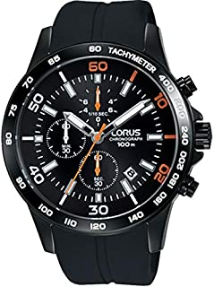 Lorus Casual Watch For Men - Rubber, Analog, RM301DX9