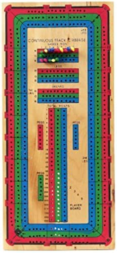 el precio más bajo Continuous Track Cribbage Cribbage Cribbage Board by CHH  la calidad primero los consumidores primero