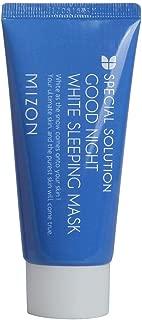 Mizon Good Night White Sleeping Mask, Moisturizing Sleeping Mask, Brightening and Whitening Effect, Whitening Sleeping Pack, Skin Lightening and Anti-aging, Facial Night Mask 50ml / 1.69 fl oz
