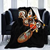 Ryan Dungey Ultra Soft Plush Luxury Lightweight Micro Fleece Blanket Home Decor Warm Anti Pilling Flannel Throw Couch Bed Sofa Office Company Bedding All Seasons Living Room Fashion 60'X50'