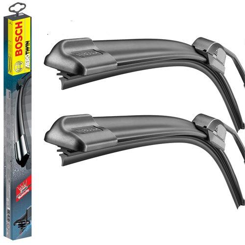 "Bosch Aerotwin Retro-Fit 21/""//21/"" Flat Front Windscreen Wiper Blades"