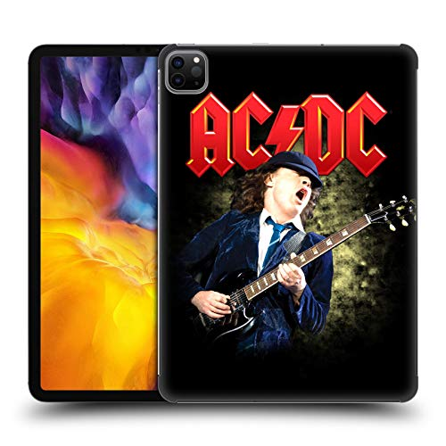 Official AC/DC ACDC Angus Young Guitar Solo Hard Back Case Compatible for Apple iPad Pro 11 (2020)