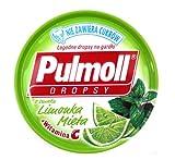 2-Pack Pulmoll Mint and Lime Cough Drops 2x45g/2x1.5oz