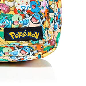 51kp8Bikj3L. SS300  - Bioworld POKEMON All-over Characters Print Backpack Mochila tipo casual, 45 cm, 15 liters, Varios colores (Multicolour)
