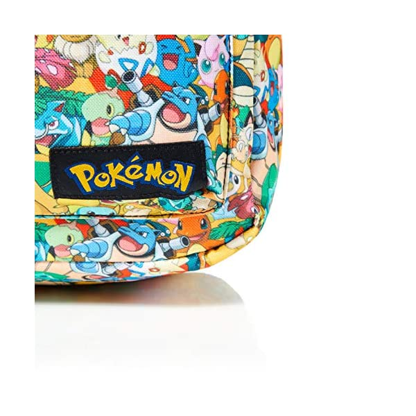 51kp8Bikj3L. SS600  - Bioworld POKEMON All-over Characters Print Backpack Mochila tipo casual, 45 cm, 15 liters, Varios colores (Multicolour)