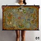 TS.13 Wow World Off Warcraft Wandposter Malerei Home Decor Wasserdichte Kunstdruck Ungerahmt