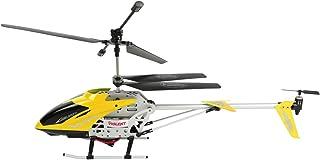 طائرة هليكوبتر للاطفال مع ريموت كنترول، اصفر