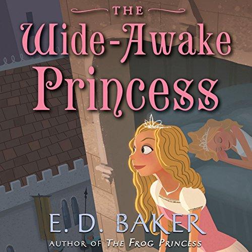The Wide-Awake Princess audiobook cover art