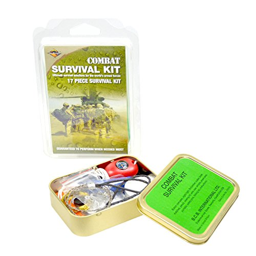 Bushcraft BCB Combat Survival Tin - Verde