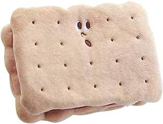 COAFIT Makeup Bag Mini Portable Cookie Shape Clutch Pouch Cosmetic Bag