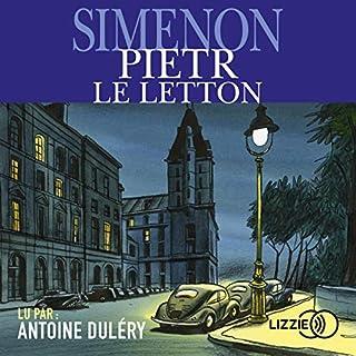 Pietr-le-letton audiobook cover art