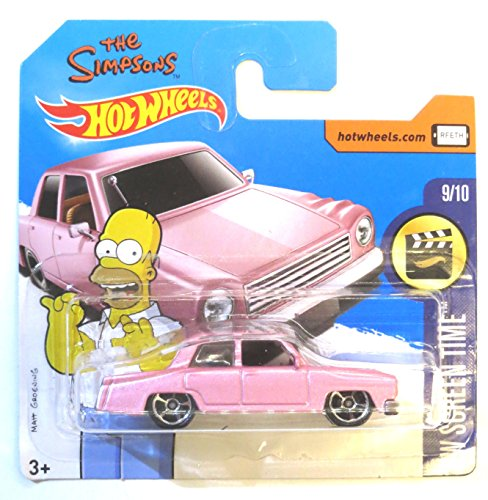 Mattel Hot Wheels The Simpsons Family Car 1:64