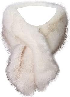 Kevins Bridal Women's Faux Fur Shawl Wraps Cloak Coat Sweater Cape for Evening Party