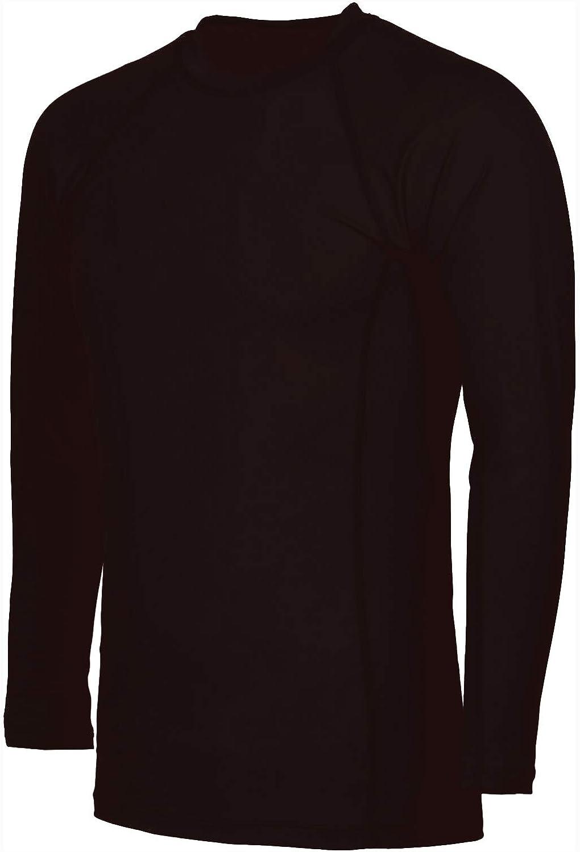 Sunshine Zone Mens Short Sleeve Snug Fitting Rash Guard Swimming Shirt, UV Protection 50+