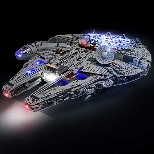 Led Lighting Kit for Lego 75192 Building Blocks Model,Light Set Compatible with Star Wars Ultimate Millennium Falcon (NOT Included Lego)