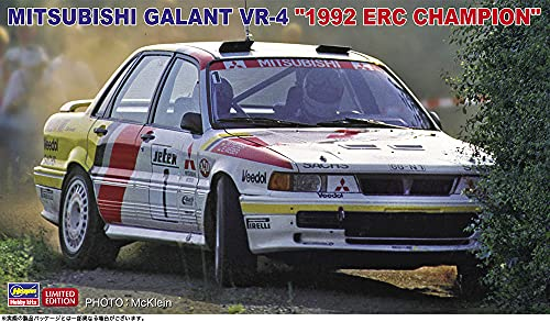 ハセガワ 1/24 三菱 ギャラン VR-4 1992 ERCチャンピオン プラモデル 20518