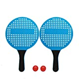 Beach Tennis Rackets Set for Kids Paddle Ball Game Set, Indoor Outdoor Summer Toys Games for 3 4 5 6 7 8 9 10 Year Old Boys Girls, Badminton Soft Tennis Paddleball Set -Best Idea Gift for Children