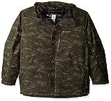 Columbia Men's Whirlibird Iii Interchange Jacket, Peat Moss MTN Jacquard Print, Large