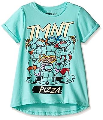 Nickelodeon Teenage Mutant Ninja Turtles Girls' T-Shirt Shirt