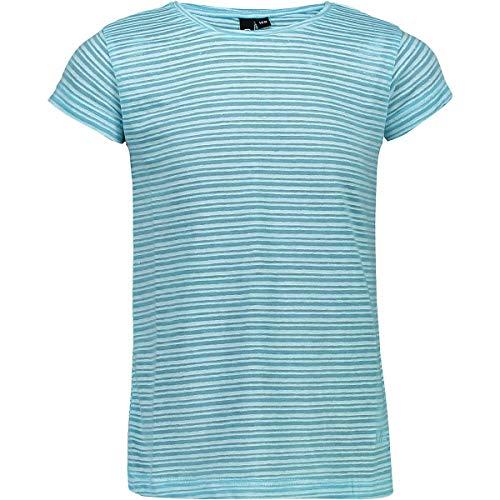 CMP T-Shirt en Coton avec Motif à Rayures pour Fille L Jade