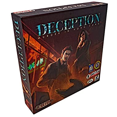 Grey Fox Games Deception: Murder in Hong Kong