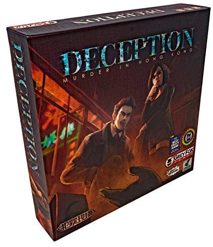 Heidelberger Spieleverlag GFG96761 Jolly Thinker - Getäuscht: Mord in Hong Kong / Deception: Murder in Hong Kong