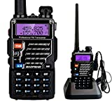 Baofeng UV-5RE Dual Band UHF/VHF Radio bidirezionale con Auricolare