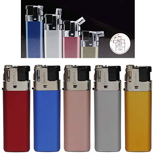 Feuerzeug Modell Sidekick Metallic Color als Normal- oder Pfeifenfeuerzeug 3-Fach verstellbar 0, 45, und 90 Grad 5 Feuerzeuge