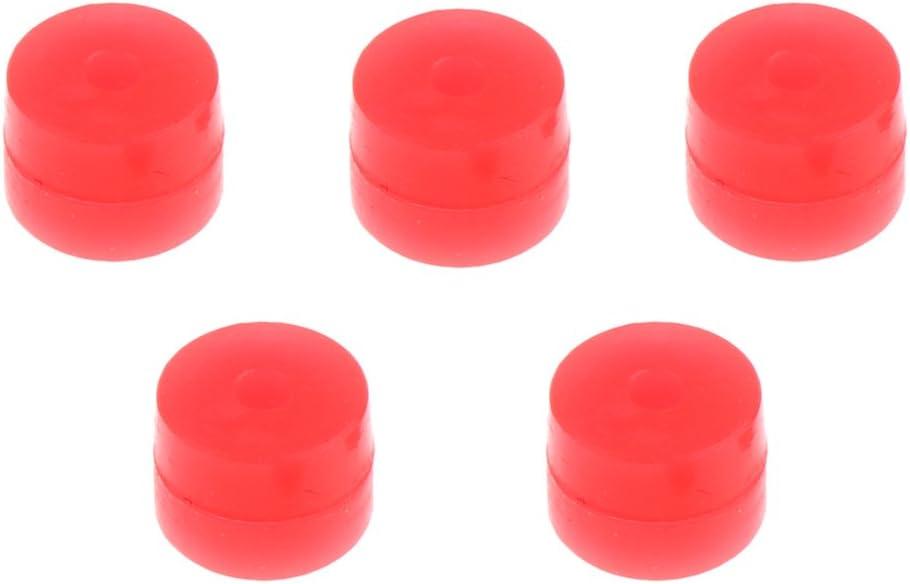 HomeDecTime 5 Pcs Bogenschie/ßen Weicher Kisser Button 6mm Bogenschie/ßen Zubeh/ör