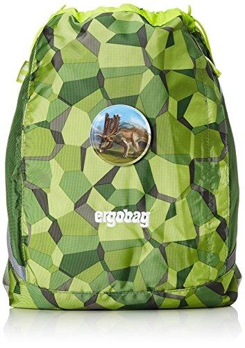 ERGOBAG cubo Sportspack 16 Turnbeutel, 45 cm, 11 L, Bodo Forest